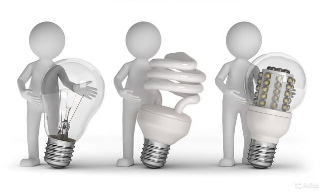 Светодиодные лампы дешево